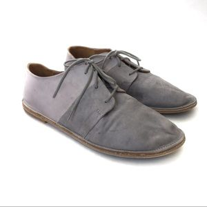 Vince Gray Leather Shoes